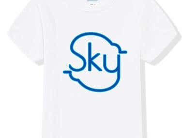 T shirt Logo Illustration