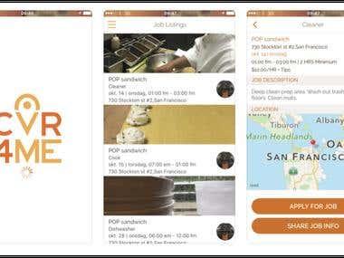 CVR4ME app