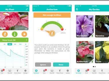 Plant Control App