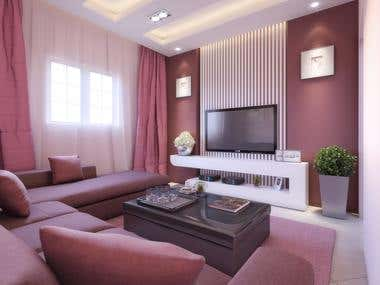 Complementary Colors Living Room