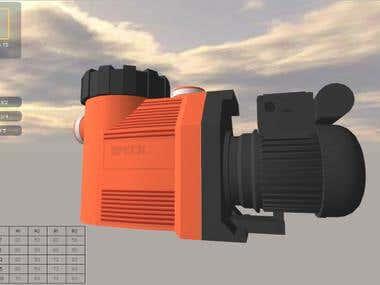 3D Technical Model