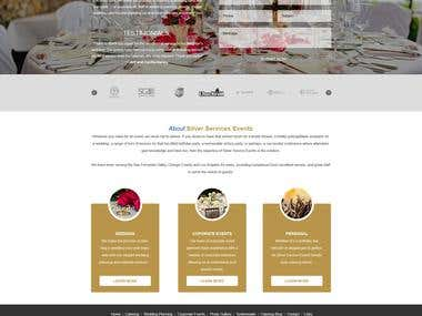 Corporate Website - Catering