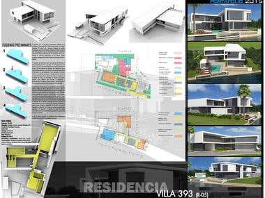 Proyecto: Villa 393