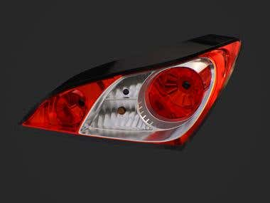 Car headlights (example)