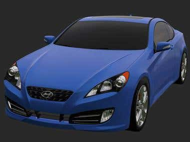 Examples of car modeling.