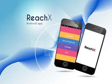 Reach x android app