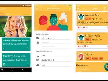 Povi Family app