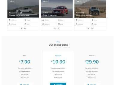 Venta y Alquiler de Vehículos / Sale and Rent of Cars