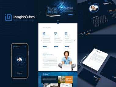 InsightCubes - Corporate identity