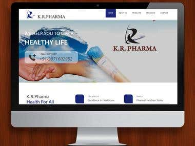 K R Pharma ( Technology : PHP )