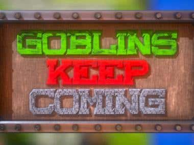Goblins Keep Coming ! - Unity3D Published Steam Game