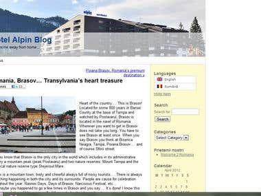 Hotel Alpin Blog -Writing & Translation
