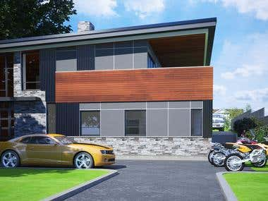 New Home design Saanich, BC, CA