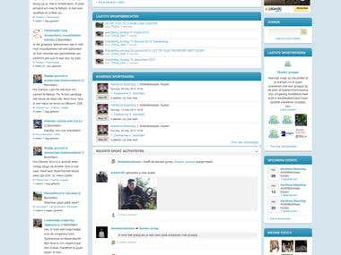 Joomla, Jomsocial Based Website.