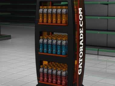 GATORADE - Family racks design