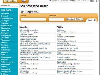 Novell.nu - publish your own novells