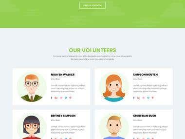 Responsive Bootstrap website