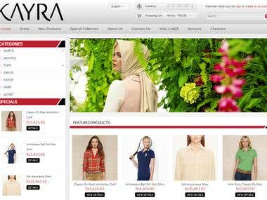 E-commerce Kayra