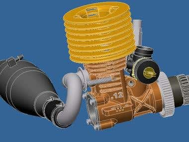 Engine for car