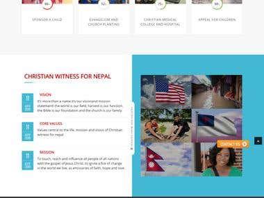 Christian Witness For Nepal
