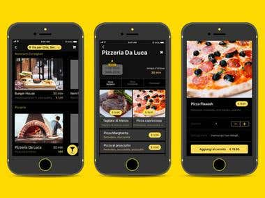FlyingFood diventa ( IOS Application )