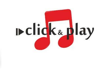 "logo for ""click and play"""