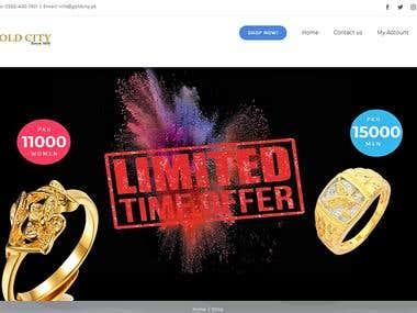 Jewellery Store| WordPress| Shopping Cart