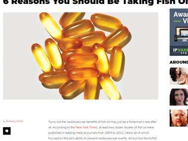 6 Reasons You Should Be Taking Fish Oil