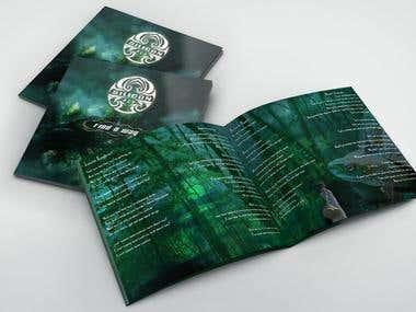 Album cover and booklet design