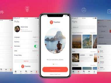 Travelesto iOS App