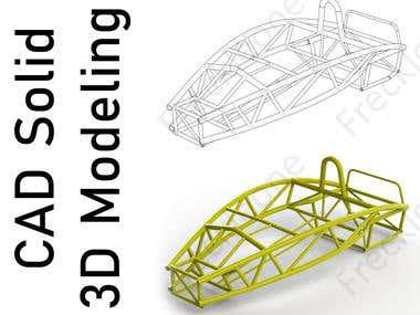 CAD 3D Solid Modeling