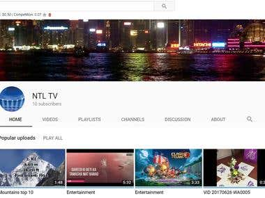 You Tube Channel Creator