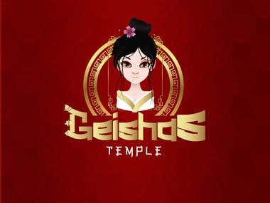 GEISHAS TEMPLE PROPOSAL LOGO