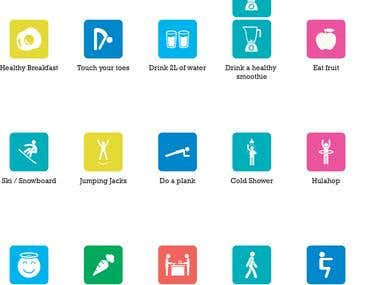 Icons for Family Wellness