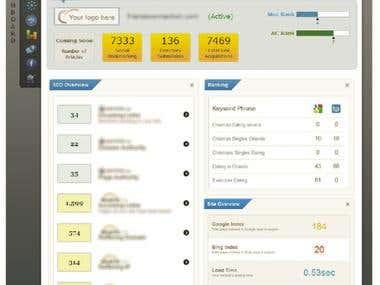 SEO Ranking/Reporting Dashboard