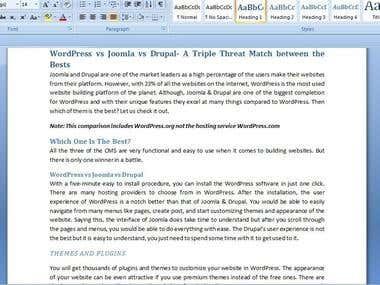 WordPress vs Joomla vs Drupal- A Triple Threat Match...