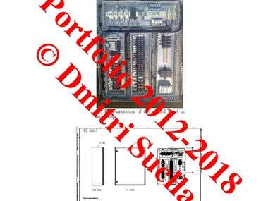 Design And Implementation Of A Instrumentation Panel ADQ.