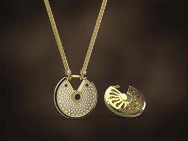 Cartier de amulette