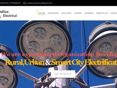 Electrical Organisation Website