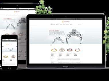 A Diamond and Jewellery eCommerce Store.