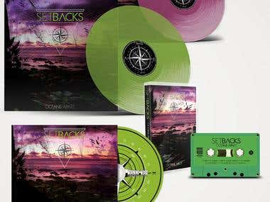 Setbacks - Oceans Apart (Album Design)