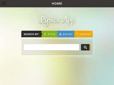 Apps & UI