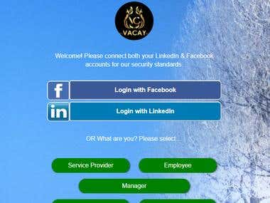 VaCay Mobile Website