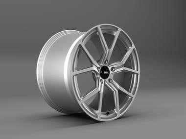 AVA HSF007 Rim 3D Render