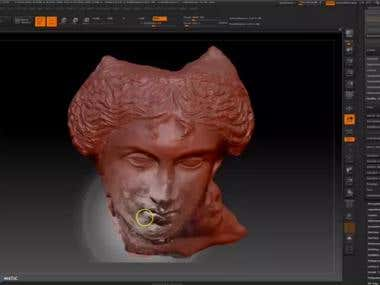 3D modeling ; sculting