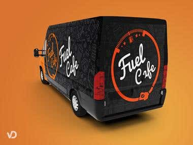 Van Wrap for Fuel Cafe
