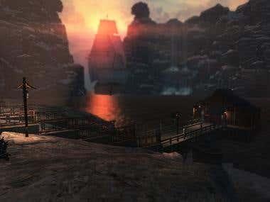 Unity3D small scenes