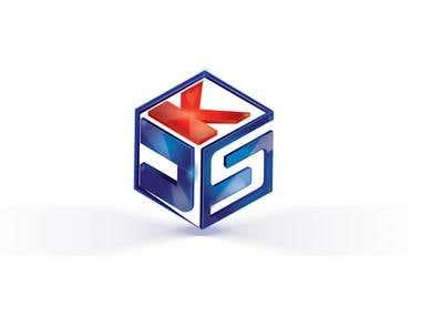 3D cubic logo