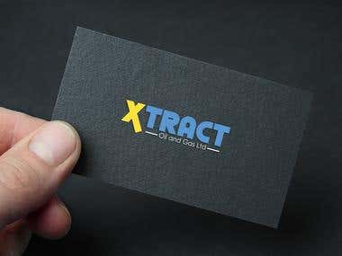 Logo design of Xtract Oil and Gas Ltd