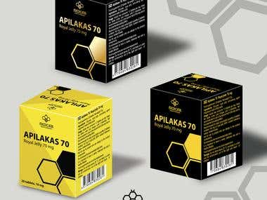 Logo rebranding & packaging for Bee product manufacturer